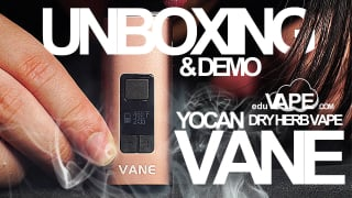 Yocan Vane Unboxing - Dry Herb Vaporizer   DEMO & First Impressions