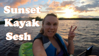 Sunset Kayak Sesh | STONER ADVENTURES