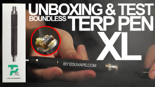 Boundless Terp Pen XL Unboxing and Test - NEW & IMPROVED | How To Use – EDUVAPE