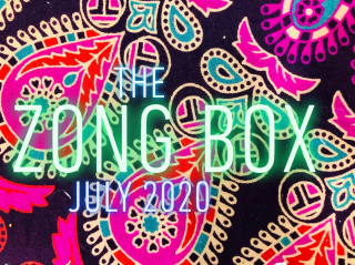 The Weed Box Zong Box Unboxing July 2020