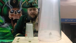 Captain Greentoker's Treasure coins & sesh