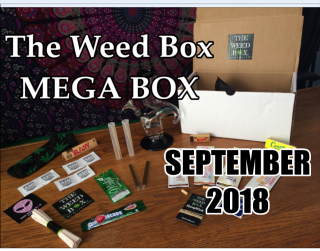 The MEGA Weed Box September 2018 Unboxing & Review