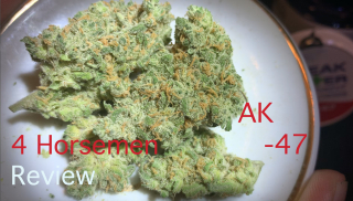 NJ Medical Dispensary Strain Review: AK-47 (Breakwater Treatment & Wellness, Cranbury, NJ)