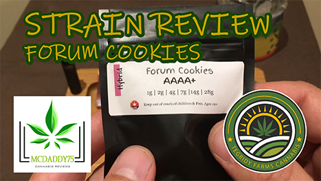 Forum Cookies from Tegridy Farms Cannabis - Strain Review