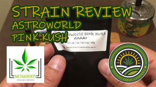 Astroworld Pink Kush from Tegridy Farms Cannabis - Strain Review