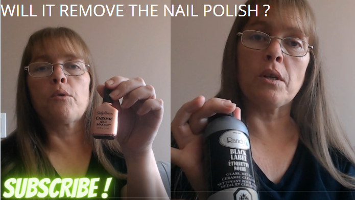 ....BUT WILL IT REMOVE THE NAIL POLISH ??