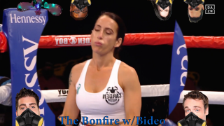 [Stoner Comedy] The Bonfire(w/Bideo) Seniesa Estrada KOs Miranda Adkins In SEVEN Seconds