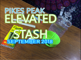Elevated Stash Pikes Peak September 2018 Unboxing