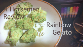 NJ Medical Dispensary Strain Review: Rainbow Gelatto (Harmony Dispensary, Secaucus NJ)