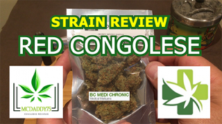 Red Congolese (AAAA+) - from BC Medi Chronic - Strain Review