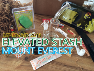 Elevated Stash Mount Everest Box September 2018 Unboxing