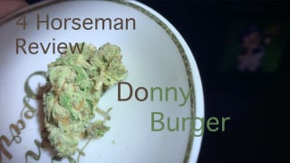 NJ Medical Dispensary Strain Review: Donny Burger (Harmony Dispensary, Secaucus NJ)