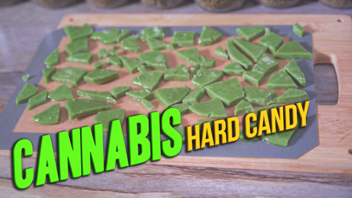 How to make Cannabis Hard Candy using Cannabutter or CannaOil