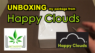 Unboxing - My Package From Happy Clouds - Mail Order Marijuana