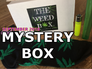 The Weed Box Mystery Box September 2018 Unboxing