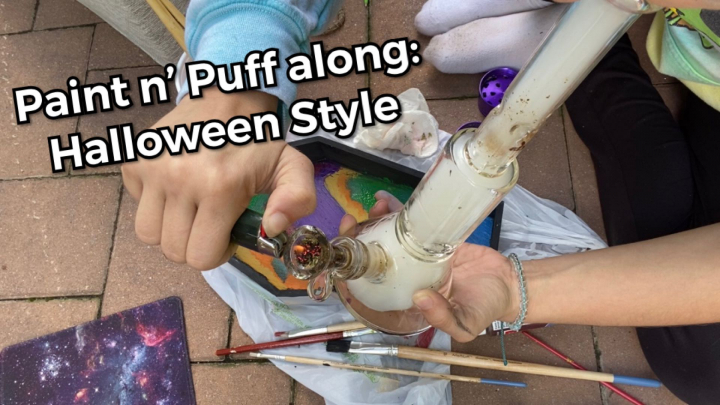 Puff n' Paint Along: Halloween Style
