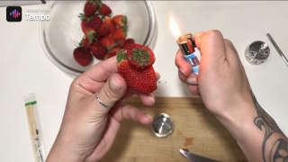 Strawberry Pipe