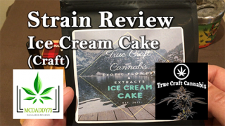 Ice Cream Cake From True Craft Cannabis - Strain Review