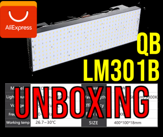 UNBOXING QUANTUM BOARD 200W SAMSUNG LM301B - LOS GROWERS HERMANOS