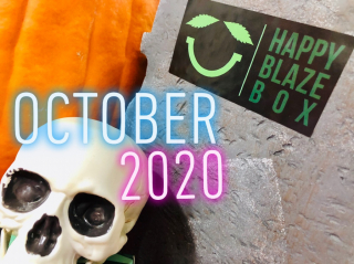 Happy Blaze Box Limited Edition HALLOWEEN BOX Unboxing October 2020