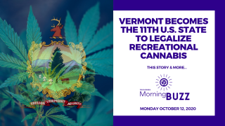 VERMONT BECOMES THE 11TH U.S. STATE TO LEGALIZE RECREATIONAL CANNABIS | TRICHOMES Morning Buzz