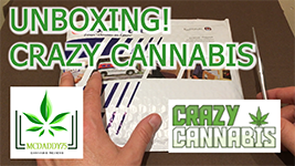 Unboxing! - My Package From Crazy Cannabis - Mail Order Marijuana