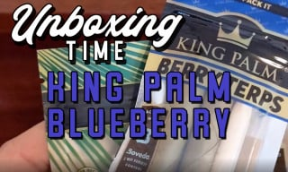 King Palm - Blue Berry Terp Unbox + Sesh