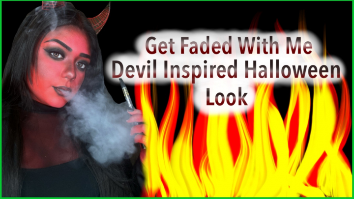 DEVIL INSPIRED HALLOWEEN LOOK   SMOKE WITH ME
