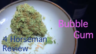 NJ Medical Dispensary Strain Review: Bubble Gum (Garden State Dispensary, Union NJ)
