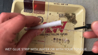 HOW TO: Roll a joint! Quick & Easy!