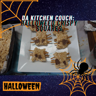 Da Kitchen Couch - Halloween Special - Halloweed Crispy Squares SE01 EP10