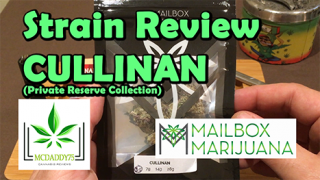Cullinan (AAAA+) (Private Reserve Collection) From Mailbox Marijuana - Strain Review