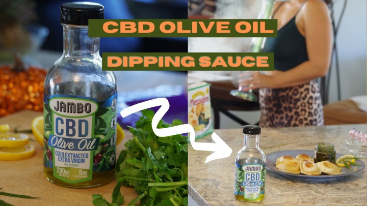 How To Make CBD Olive Oil Dipping Sauce | 420 Recipes