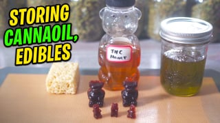 How to properly store Cannaoil, Edibles, and other products.