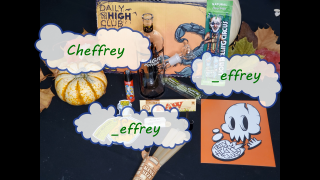 October 2020 Daily High Club Unboxing