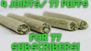 77 HITS FOR MY 77 SUBSCRIBERS * 4 JOINTS