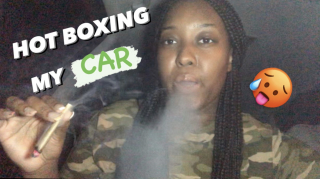 I HOTBOXED MY CAR FOR THE FIRST TIME!    PuffPuffGyal
