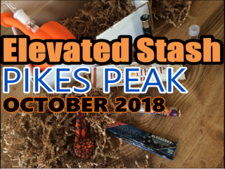 Elevated Stash Pikes Peak Box October 2018 Unboxing
