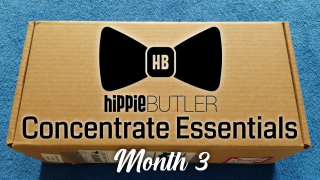 Hippie Butler November 2020 Butler Box Concentrate Essentials Month 3 Unboxing and Review