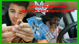 FlightCrew420 Weed Review Episode 4: Hotboxing a 2g Gary Payton Blunt