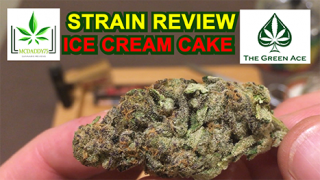 Ice Cream Cake From The Green Ace - Strain Review
