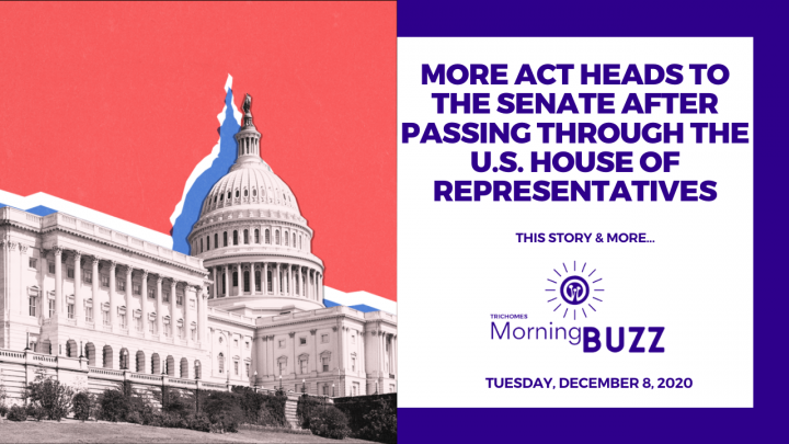 MORE ACT HEADS TO THE SENATE AFTER PASSING THROUGH THE U.S. HOUSE | TRICHOMES Morning Buzz