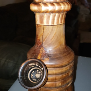 Wooden Water Pipe