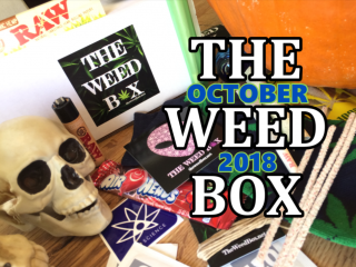 The Weed Box October 2018 Unboxing & Review