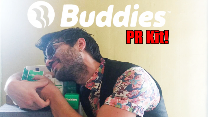 Buddies: PR Box Cannabis Products Review (Unboxing)
