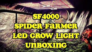 Spider Farmer LED Grow Light (SF4000) Unboxing