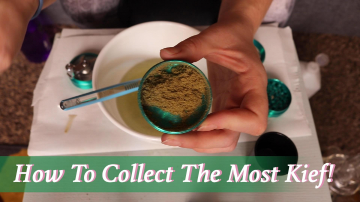 How To Clean Your Grinder and Collect The Most Kief