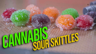 Cannabis Sour Skittles | Making edibles with distillate & Simple Syrup