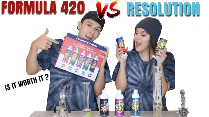 FIRST TIME USING FORMULA 420 !!!
