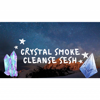✨ CRYSTAL SMOKE CLEANSE SESH | CRYSTAL TOUR  ✨